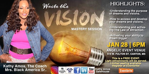 Write the Vision Women's Empowerment Mastery Session