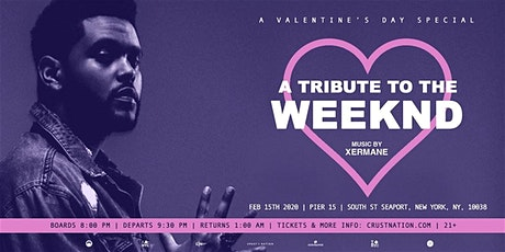 THE WEEKND TRIBUTE Yacht Cruise: Valentine's Day Boat Party NYC tickets