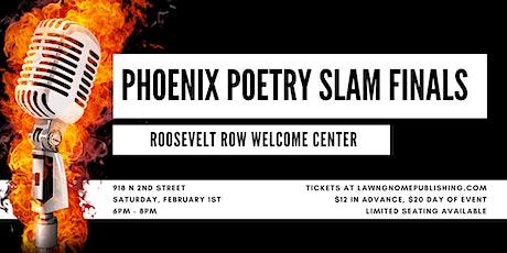 Phoenix Poetry Slam Finals | Roosevelt Row Welcome Center tickets