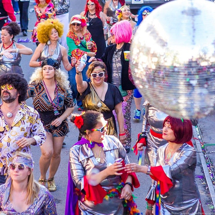 Disco Amigos - Mardi Gras 2020 Disco Train Membership image