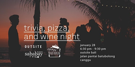 Trivia, Pizza, and Wine Night tickets