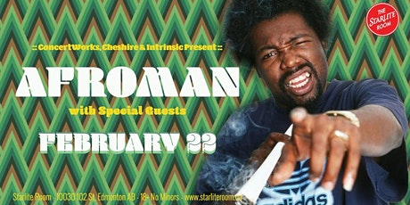 AFROMAN with Special Guests tickets