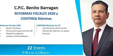 Reformas Fiscales 2020 (Benito Barragán) entradas