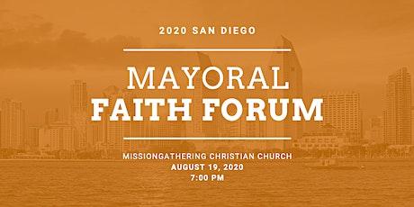 San Diego Mayoral Faith Forum tickets