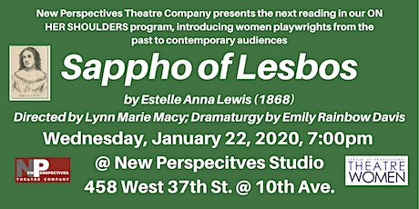 On Her Shoulders: Sappho of Lesbos tickets
