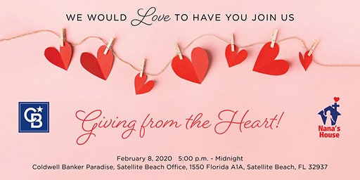 Giving From The Heart!