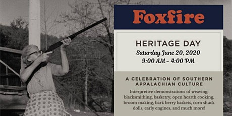 Foxfire Heritage Day 2020 tickets