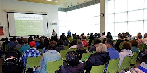 MOHCD Orientation-Orientación del Programa de compradores de vivienda MOHCD