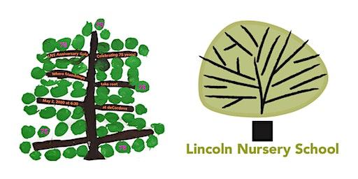 Lincoln Nursery School 75th Anniversary Gala