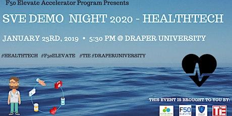 SVE Demo Night 2020 - HealthTech | SVE.io tickets