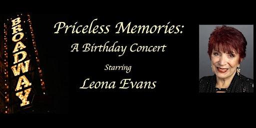 Priceless Memories: Celebrating A Career on Broadway