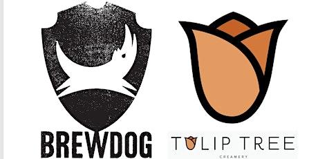 BrewDog X Tulip Tree Creamery Craft Beer & Cheese Pairing tickets