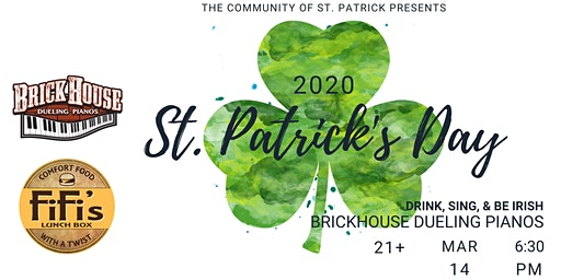 2020 St. Patrick's Day Party- Saturday March 14