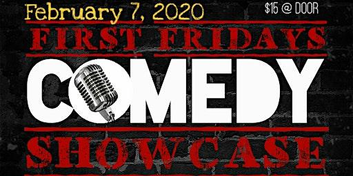 "First Fridays Comedy Showcase feat. Donovan ""Smallz"" Harper"