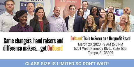 OnBoard Nonprofit Governance Training tickets