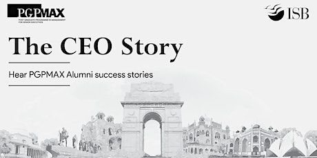 The CEO Story: PGPMAX | Pune tickets