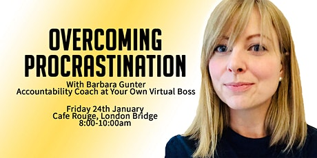 Overcoming Procrastination | Tackle THAT thing on your to-do list today! tickets