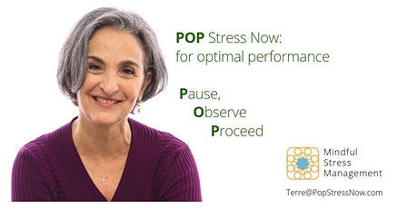 POP Stress Now: for Optimal Health and Performance (live, online intro every 3rd Tuesday) tickets