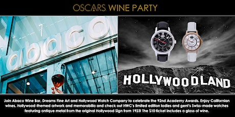 Oscars Wine Party 2020 - Hollywood-themed Artwork and Memorabilia tickets