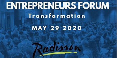 2020 Entrepreneurs Forum: Transformation tickets