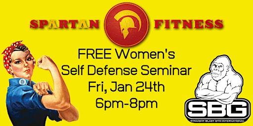 Paul Sharp WOMEN'S ONLY Self Defense Seminar