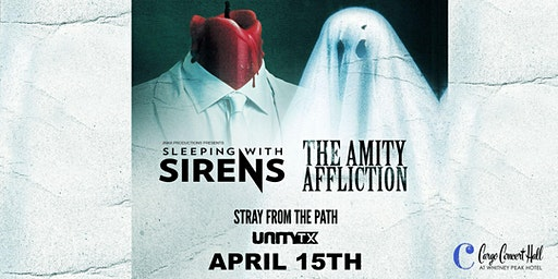Sleeping with Sirens x The Amity Affliction at Cargo Concert Hall
