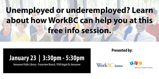 What is WorkBC? A Free Info Session