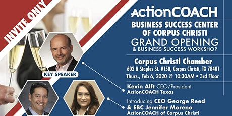 Grand Opening of Action Coach of Corpus Christi tickets