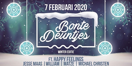 "Bonte Deuntjes X Happy Feelings ""Winter Editie"" tickets"
