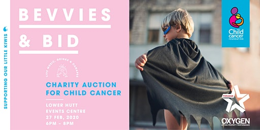 Bevvies & Bid Charity Auction for Child Cancer