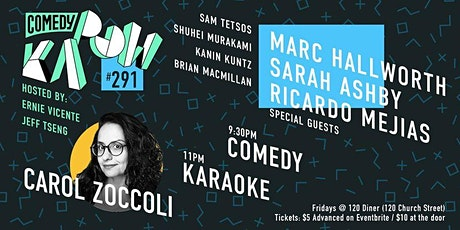 Comedy Kapow #291- Carol Zoccoli tickets