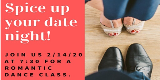 Valentine's Day Couples Dance Class