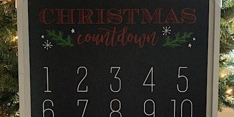 Sip 'N Chalk Christmas Countdown tickets