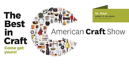 American Craft Show, St. Paul