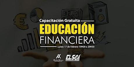 CAPACITACIÓN GRATUITA - Educación Financiera entradas