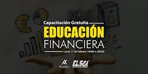 CAPACITACIÓN GRATUITA - Educación Financiera