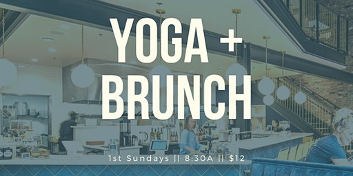 Yoga + Brunch at Stockpot