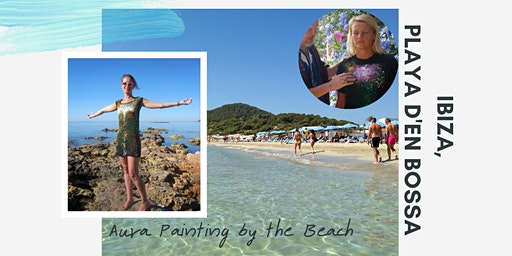 Have Your Aura Painted on the Beach!