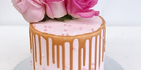 How to make a semi naked drip cake with fresh flowers! tickets