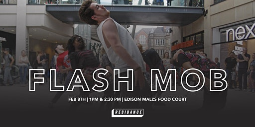 DANCE FLASH MOB - Inside Edison Mall's Food Court by RESIDANCE