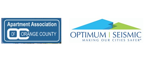 AAOC And Optimum Seismic Offer Free Workshop August 4 On Earthquake Vulnerability & Retrofitting 101 tickets