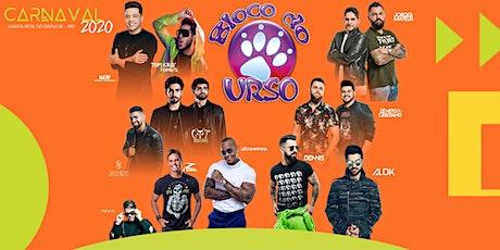 Excursão Carnaval Bloco do Urso 2020 ingressos