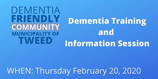 Dementia Training and Information Session