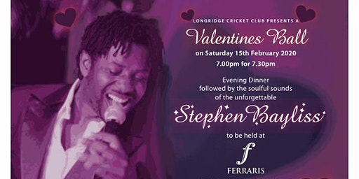 Valentines Ball with Stephen Bayliss