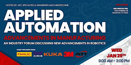 Applied Automation: Advancements in Manufacturing tickets