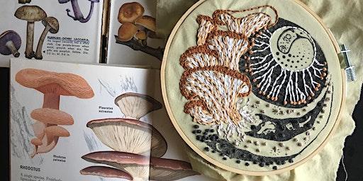 Documentary Embroidery : Super Fungi