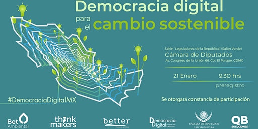 Democracia digital para el cambio sostenible