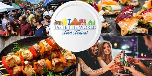 Taste The World Festival May 23rd and 24th Sacramento - Promo