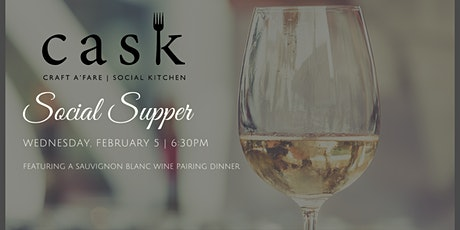 Cask Social Supper billets