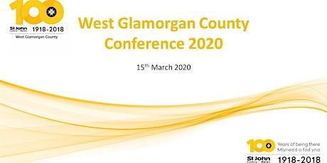 2020 St John Cymru - West Glamorgan County Conference tickets